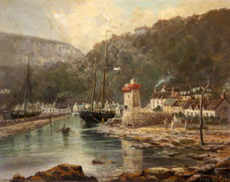 View of Lynmouth
