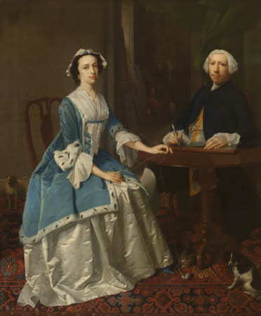 A Portrait Painter and his Wife