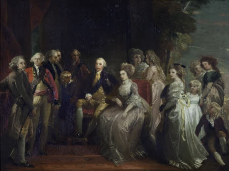 King George III and his Family