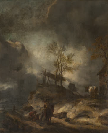 A Landscape with Dunes and Figures