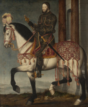 King François I, King of France (1494–1547) on Horseback