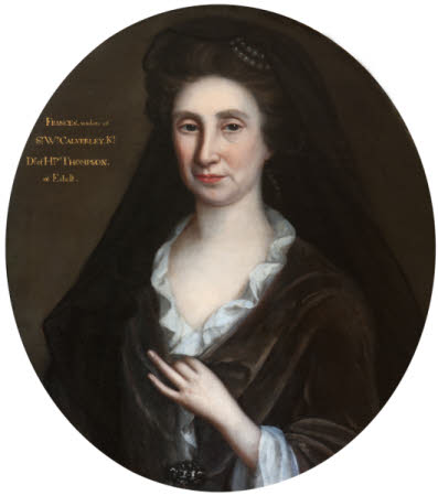 Frances Thompson, Lady Calverley