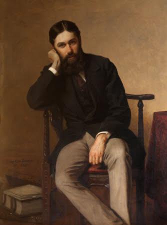 Sir George Otto Trevelyan, 2nd Bt (1838-1928), aged 32