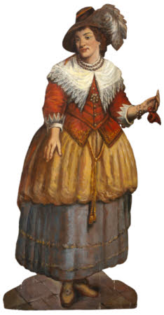 A Female Figure (dummy board)