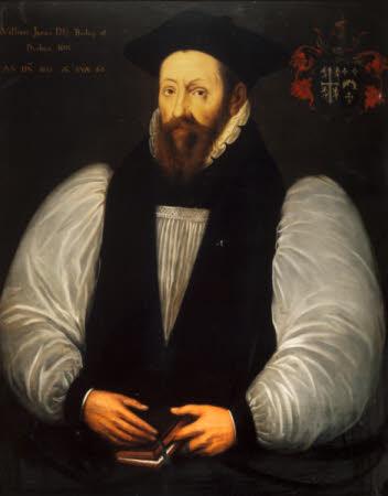 William James (1506-1617), Bishop of Durham, aged 66