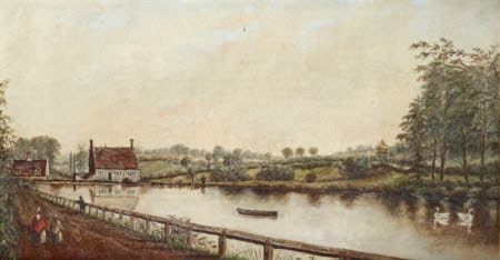 View of Bourne Mill, Essex