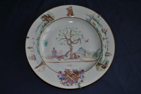Armorial plate