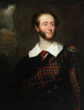 An Unknown Gentleman in Tartan