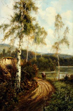 The Path By Loch Katrine, Trossachs, Scotland