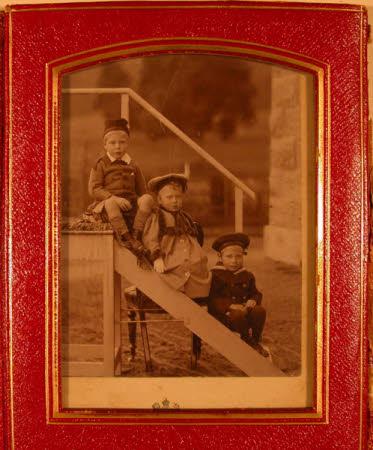 The Royal Princes: Prince Edward of York, later King Edward VIII, Duke of Windsor (1894-1972), ...