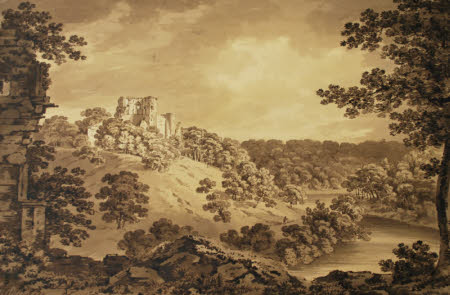 Bothwell Castle, South Lanarkshire from Blantyre Priory