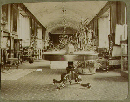The Long Gallery, Lanhydrock House, Cornwall