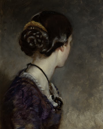Lady Georgina Sophia Baillie-Hamilton, Lady Foley (1839-1928) (profile perdu)