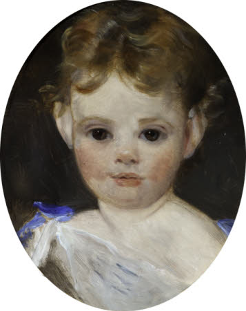 Auda Letitia Vernon, later Mrs T.A.Hill (1862-1957) as a Child