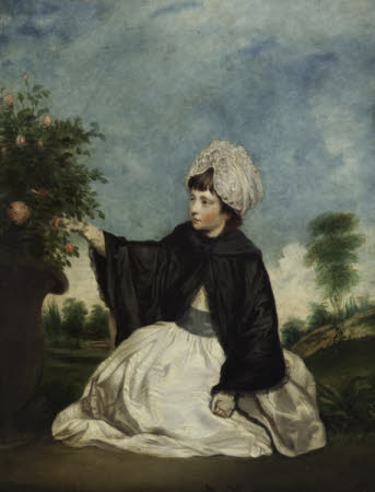 Lady Caroline Isabella Howard, later Lady Cawdor (1771-1848), as a Young Girl (after an original of ...