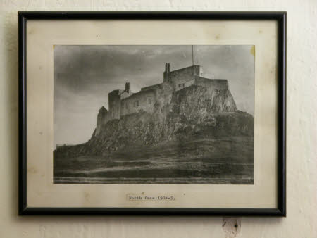 View of the north face, Lindisfarne Castle, c.1904-1905