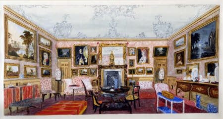 Large Drawing Room, The Vyne, Hampshire,1860
