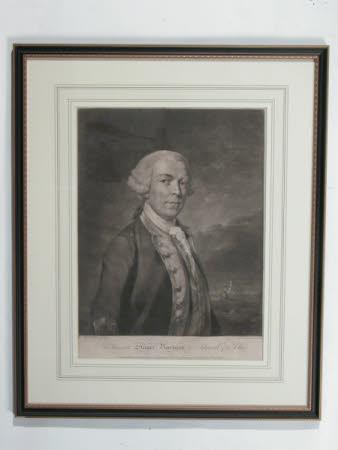Admiral, The Hon. Samuel Barrington (1729-1800) (after Richard Earlom)