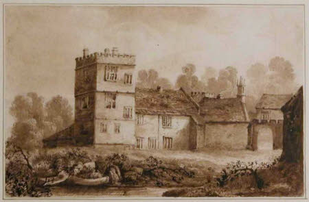 North West Tower, Cotehele, Cornwall, 1823