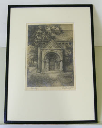 South Door, Steetley Church, Derbyshire