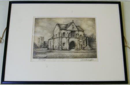 Worksop Priory Gatehouse, Nottinghamshire