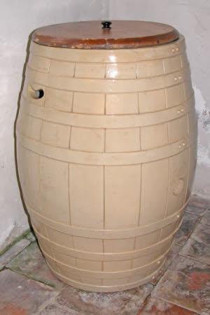 Salting barrel