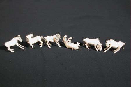 Miniature horse ornament