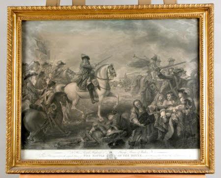 The Battle of the Boyne (after Benjamin West PRA)