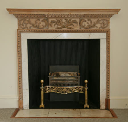 Chimneypiece, Gallery Wing, Mottisfont Abbey, Hampshire
