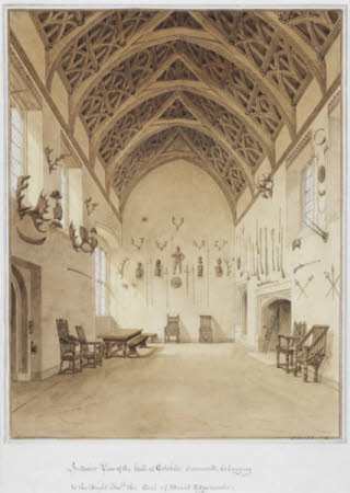 The Interior of the Hall, Cotehele, Cornwall