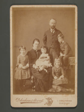 Thomas Charles Agar-Robartes, later 6th Viscount Clifden (1844-1930), and his wife, Mary Dickinson, ...