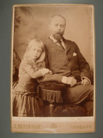 Thomas Charles Agar-Robartes, 6th Viscount Clifden (1844-1930) and his daughter The Hon. Mary Vere ...