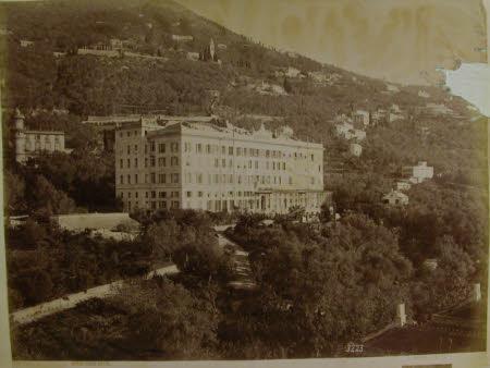 Nervi, Eden Hotel.