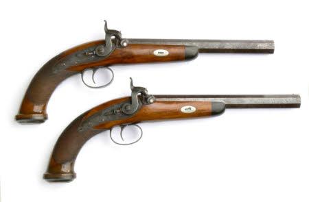 Duelling pistol