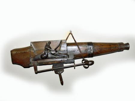 Spring gun