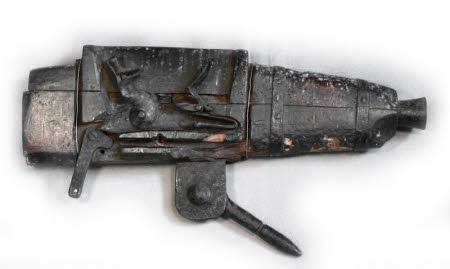 Flintlock trap gun