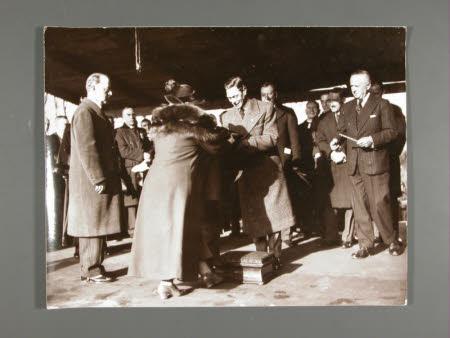 King George VI (1895-1952) and The Hon. Francis Gerald Agar-Robartes, 7th Viscount Clifden ...