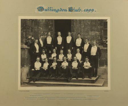 Bullingdon Club, 1899.
