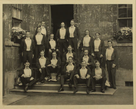 Bullingdon Club, 1898.