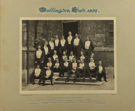 Bullingdon Club, 1897.