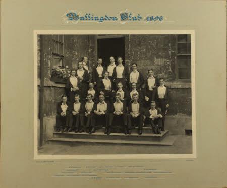 Bullingdon Club, 1896.