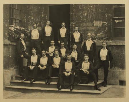 Bullingdon Club, 1895.