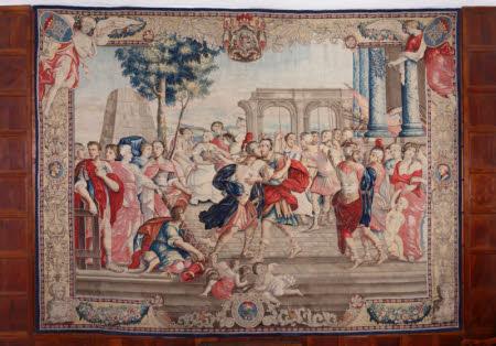 The Reconciliation of Romulus and Titus Tatius