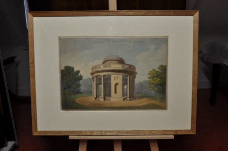 An Elevation For A Rotunda In The Grounds At Croome