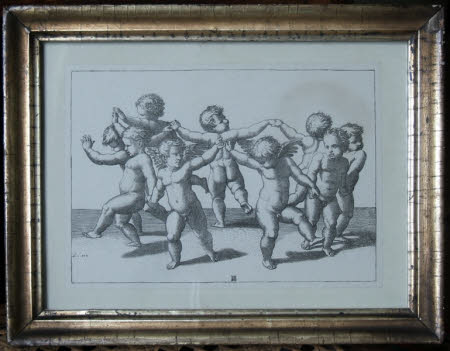 A Dance of Cupids (after Raphael)