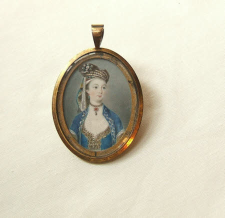 Possibly Lady Hester Lucy Stanhope (1776-1839)