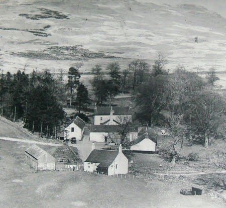 An Aerial View of Craigenputtock, Dumfries, 1828