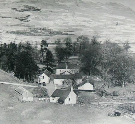 An Aerial View of Craigenputtock, Dumfries, 1828