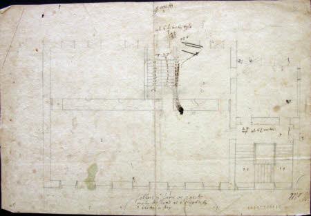 Ground Plan of Service Building