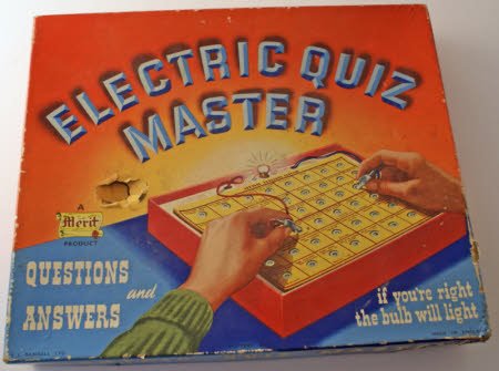 Electric quiz game box 671205 1 | National Trust Collections